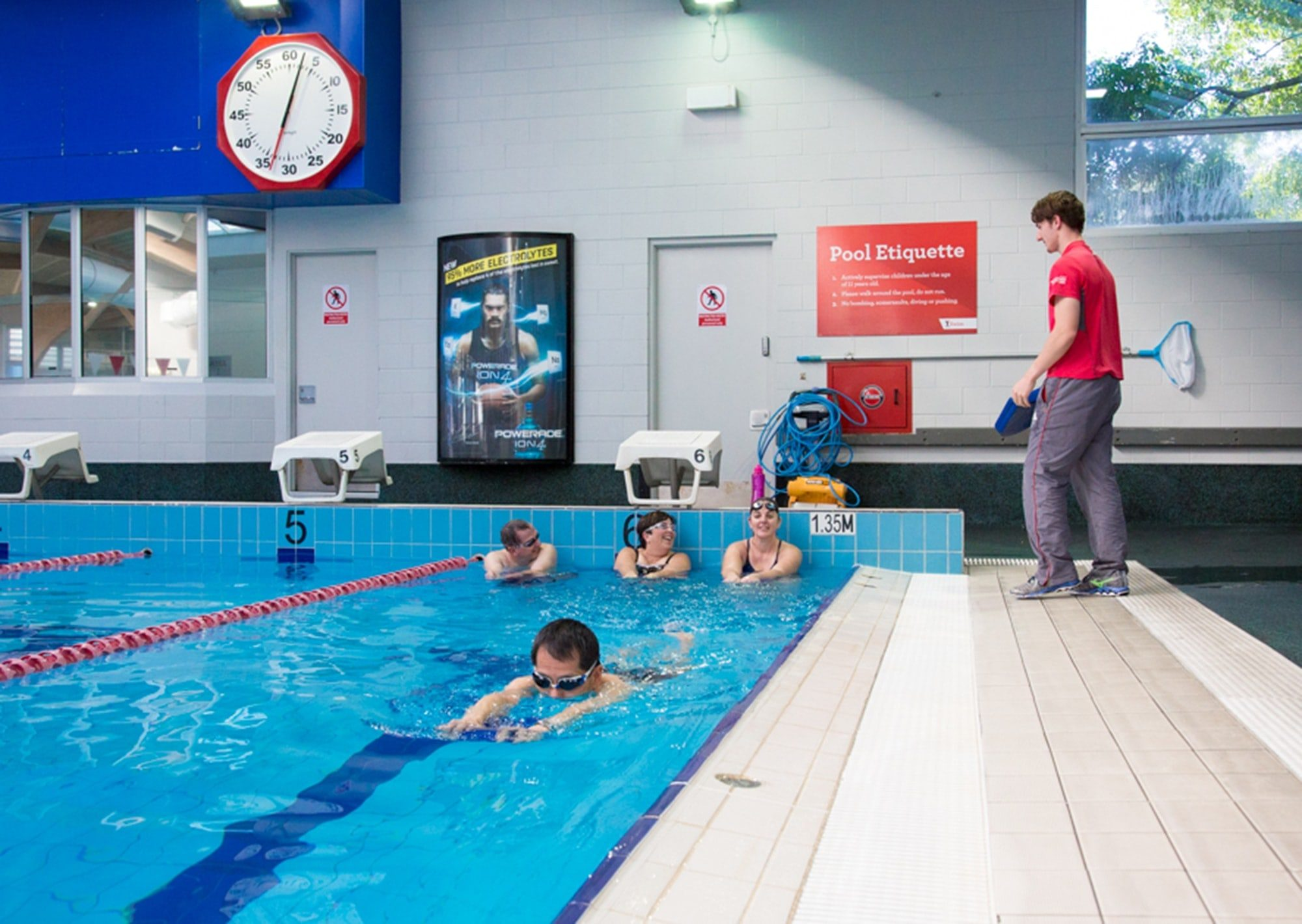 Aqua energy Fitzroy swimming pool group fitness