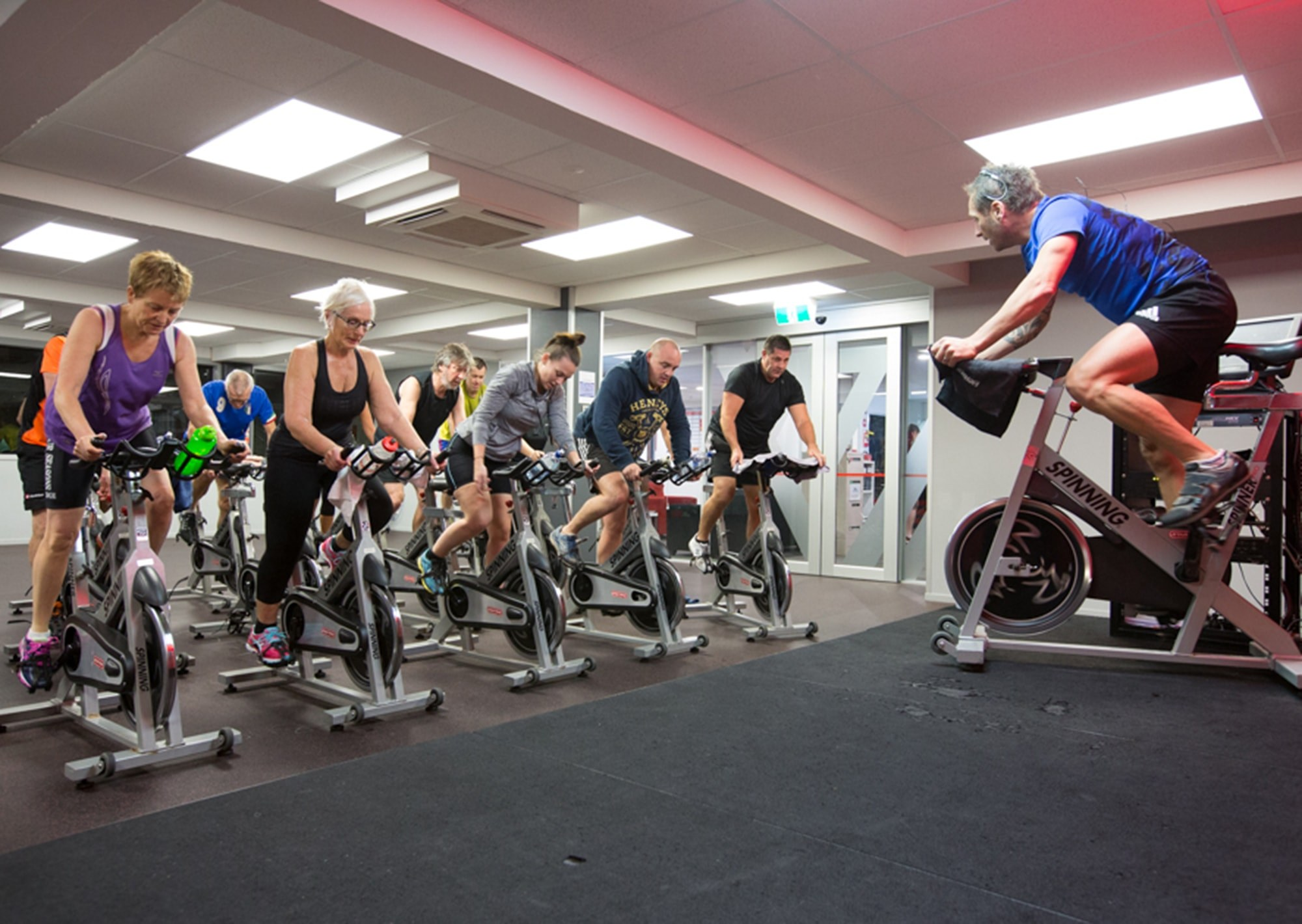 Spin Classes at Massey Leisure Centre YMCA