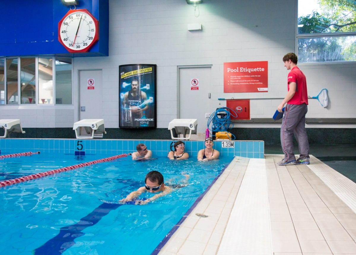 Adult Learn To Swim Squad Classes