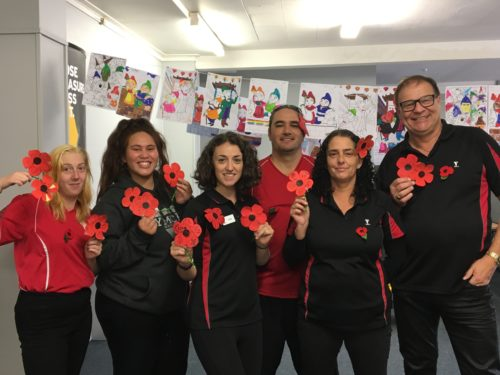 Anzac Day Staff