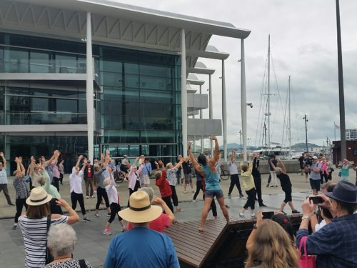 Flash Mob Ymca Auckland City